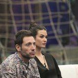 Antonio David Flores junto a Estela Grande en la Gala 8 de 'GH VIP 7'