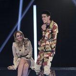 Alba Carrillo y El Cejas antes de la expulsión de la Gala 8 de 'GH VIP 7'
