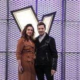 Niña Pastori es la asesora de David Bisbal en 'La Voz Kids'