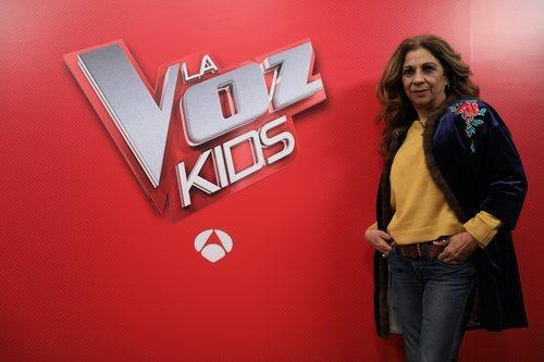 Lolita, asesora de Rosario Flores en 'La Voz Kids' de Antena 3