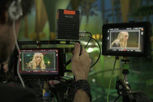 Maggie Civantos en el rodaje de 'Vis a vis: El Oasis'