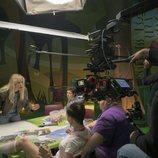 Las protagonistas de 'Vis a vis: El Oasis' rodando una secuencia