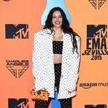 Rosalía en la alfombra roja de los MTV EMAs 2019