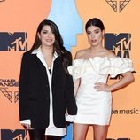 Dulceida y Alba Paul en la alfombra roja de los MTV EMAs 2019