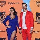 Cristiano Ronaldo y Georgina Rodríguez en la alfombra roja de los MTV EMAs 2019