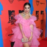 Lola índigo posa en la alfombra roja de los MTV EMAs 2019