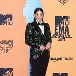 La actriz Andrea Duro en la alfombra roja de los MTV EMAs 2019