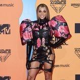 Pabllo Vittar en la alfombra roja de los MTV EMAs 2019