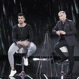 Pol Badía y Jorge Javier Vázquez, en la Gala 9 de 'GH VIP 7'