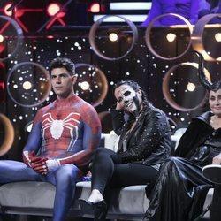 Diego Matamoros, Irene Junquera, Lucía Pariente en la Gala 9 de 'GH VIP 7'
