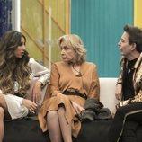 Noemí Salazar, Mila Ximénez y el Maestro Joao, en la Gala 10 de 'GH VIP 7'