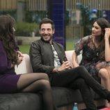 Adara, Antonio David Flores y Estela Grande, en la Gala 10 de 'GH VIP 7'