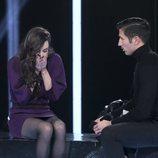 Adara y Gianmarco se despiden durante la Gala 10 de 'GH VIP 7'