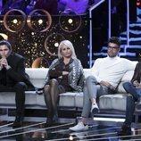 Luca Onestini, Lucía Pariente, Pol Badía y Miguel Frigenti en la Gala 10 de 'GH VIP 7'