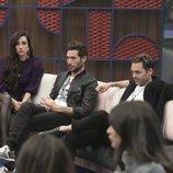Adara junto a Antonio David Flores y Hugo Castejón en la Gala 10 de 'GH VIP 7'
