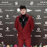 Roi Méndez en la alfombra roja de LOS40 Music Awards