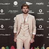 Dani Fernández en la alfombra roja de LOS40 Music Awards 2019