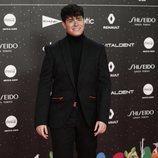 Alfred García en su paso por la alfombra roja de LOS40 Music Awards 2019