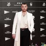 Sam Smith en la alfombra roja de LOS40 Music Awards 2019