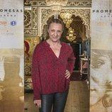 Blanca Portillo posa en la rueda de prensa de 'Promesas de arena'