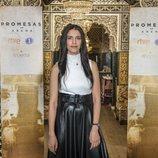 Somaya Taoufiki en la rueda de prensa de 'Promesas de arena'