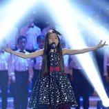 Melani García canta en 'La Voz Kids 2018'