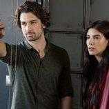 Sinam Egemen y Hazan en 'La señora Fazilet y sus hijas'