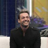 Hugo Castejón sonríe durante la Gala 11 de 'GH VIP 7'