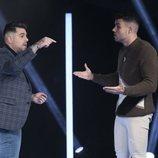 Alberto y Pol Badía discuten durante la Gala 11 de 'GH VIP 7'