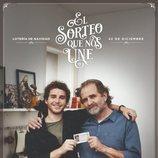 Póster del anuncio de la Lotería de Navidad 2019 con Ramón y José