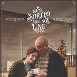 Póster del anuncio de la Lotería de Navidad 2019 con Emilio y Gloria