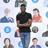 Ricardo Nkosi en la presentación de la temporada 11 de 'La que se avecina'