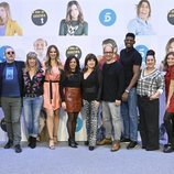 Foto de grupo en la rueda de prensa de la undécima temporada de 'La que se avecina'