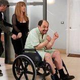 Antonio Recio vuelve en silla de ruedas en el episodio 11x09 de 'La que se avecina'