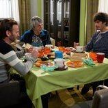 Fermín, Javi y Vicente desayunan juntos en el episodio 11x09 de 'La que se avecina'