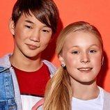 Tatyana Mezhentseva y Denberel Oorzhak, representantes de Rusia en el Festival de Eurovisión Junior 2019