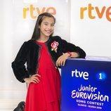 Melani, representante española en Eurovisión Junior 2019, posa en RTVE