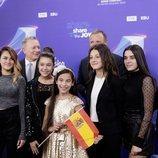 La delegación española en la Ceremonia de Inauguración de Eurovisión Junior 2019
