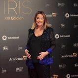 La presentadora Toñi Moreno en los Premios Iris 2019