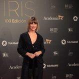 Xenia Tostado en la alfombra roja de los Premios Iris 2019