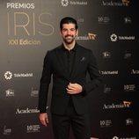 Miguel Ángel Muñoz en los Premios Iris 2019