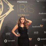 La actriz Carlota Boza en los Premios Iris 2019