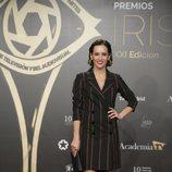 Ana Turpin posa en la alfombra roja de los Premios Iris 2019