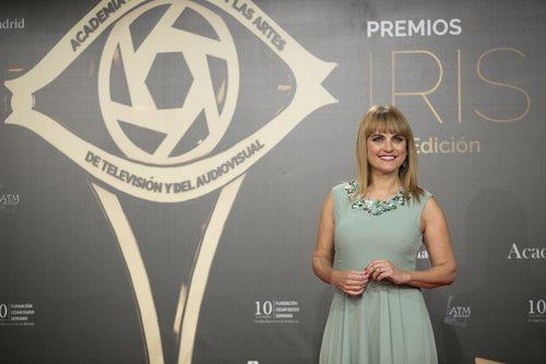 Lourdes Maldonado sobre la alfombra roja de los Premios Iris 2019