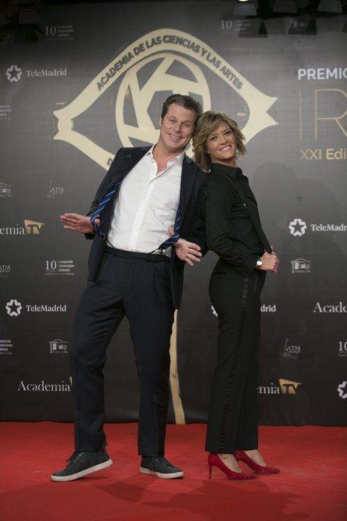María Casado y Jota Abril en lo Premios Iris 2019