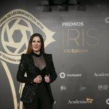 La cantante Diana Navarro en los Premios Iris 2019