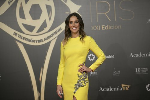 Adela Úcar deslumbrante sobre la alfombra roja de los Premios Iris 2019