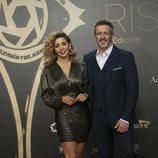Sandra Cervera y Fernando Coronado juntos en los Premios Iris 2019