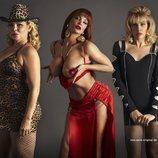 Isabel Torres, Daniela Santiago y Jedet son Cristina Ortiz en 'Veneno'