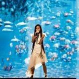 Melani devuelve la vida a los océanos en el primer ensayo de Eurovisión Junior 2019